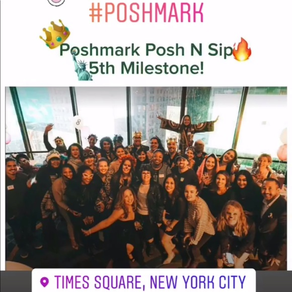 posh n sip Other - Thank you!!! NY Posh N Sip Milestone